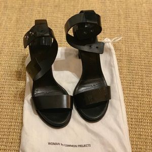 Common Projects Leather Heels